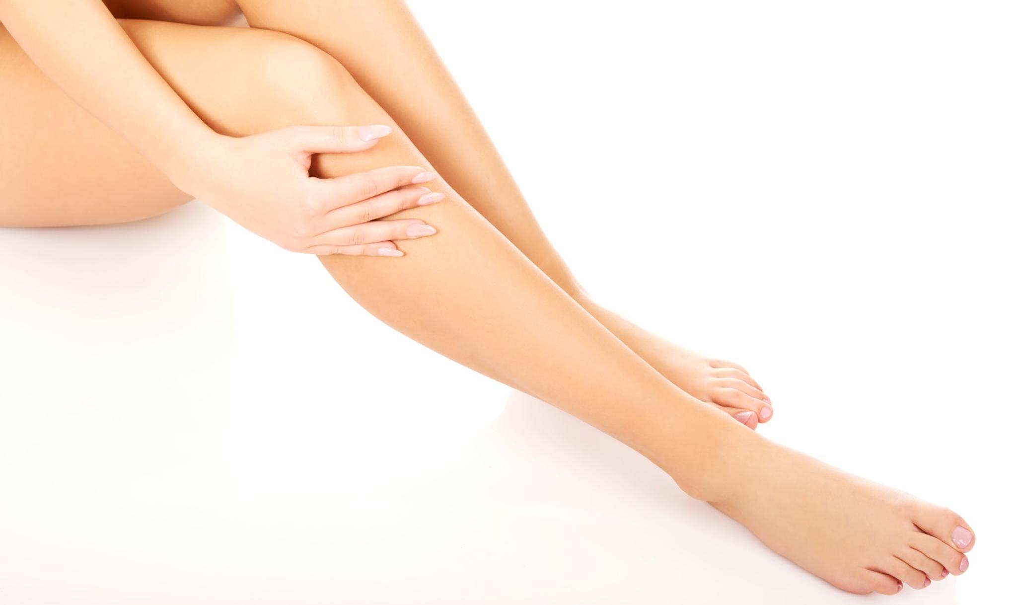 Laskimotukos jalassa