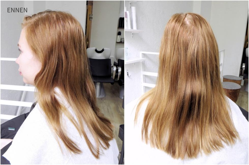 luonnolliset hiukset